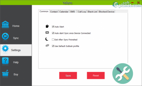 YaSync Screenshot2