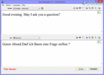 Ace Translator Screenshot2