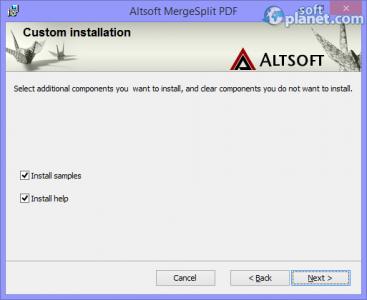 MergeSplit PDF Screenshot2