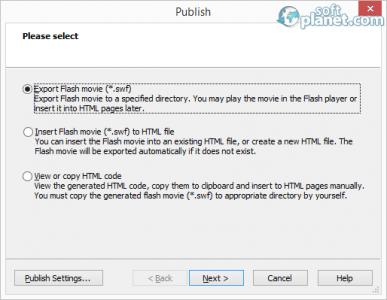 SWF Editor Screenshot3