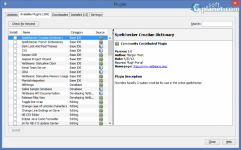 NetBeans IDE Screenshot3