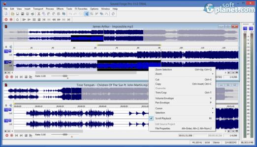 Sound Forge Pro Screenshot4