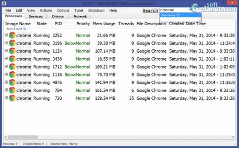 LISTSP Screenshot5
