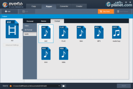 DVDFab DVD Ripper Screenshot4