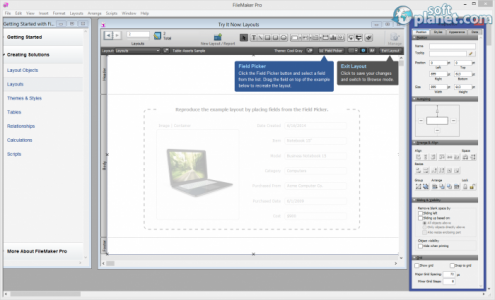 FileMaker Pro Screenshot5