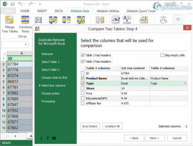 Duplicate Remover for Microsoft Excel Screenshot3