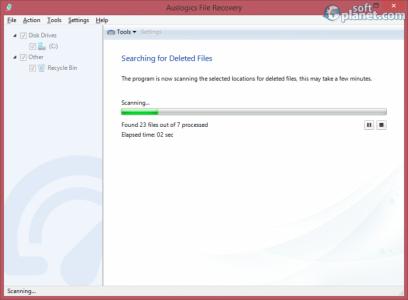 Auslogics File Recovery Screenshot2