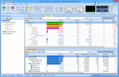 Colasoft Capsa Enterprise Screenshot5