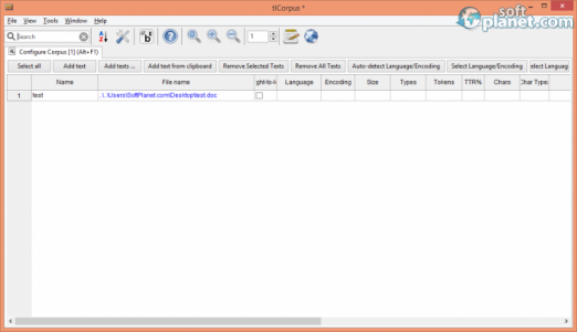 tlCorpus Screenshot2