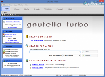 Gnutella Turbo Screenshot2