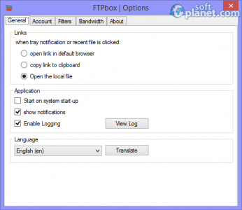 FTPbox Screenshot2