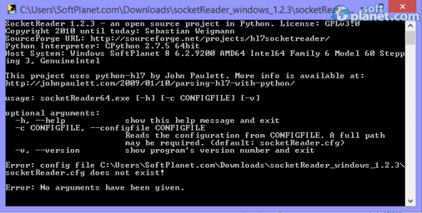 SocketReader Screenshot2