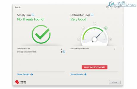 Trend Micro Maximum Security Screenshot2