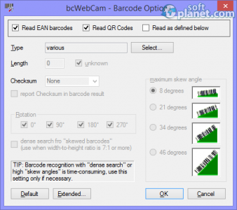 bcWebCam Screenshot2