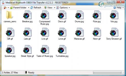 Bluetooth File Transfer Screenshot2