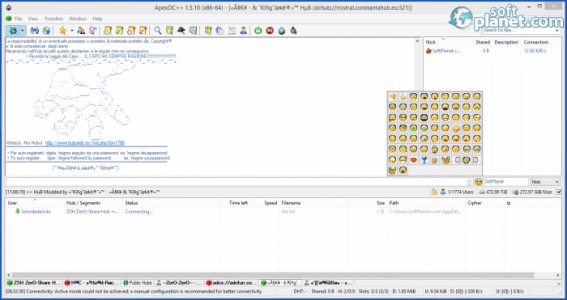 ApexDC++ Screenshot5