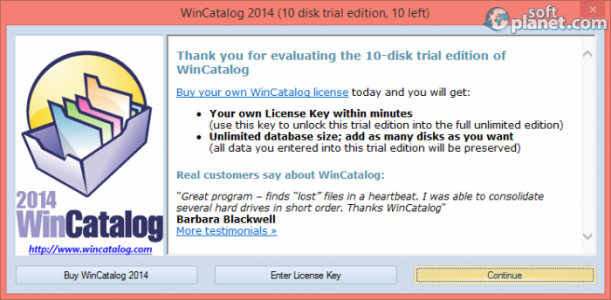 WinCatalog 2014 Screenshot3
