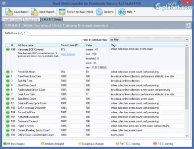 Hard Drive Inspector for Notebooks Screenshot4