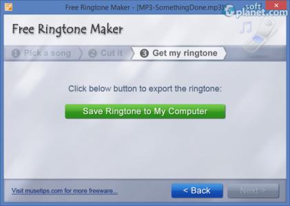 Free Ringtone Maker Portable Screenshot3