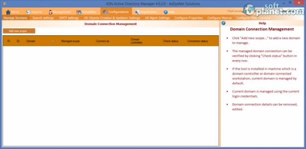 ASN Active Directory Manager Screenshot2