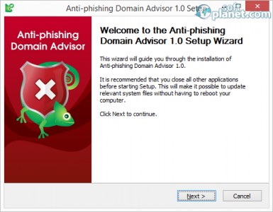 Anti-phishing Domain Advisor Screenshot2