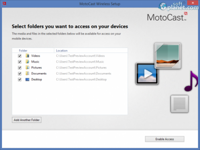 MotoCast Screenshot2