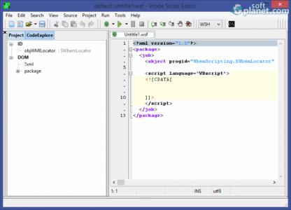 Vrode Script Editor Screenshot2