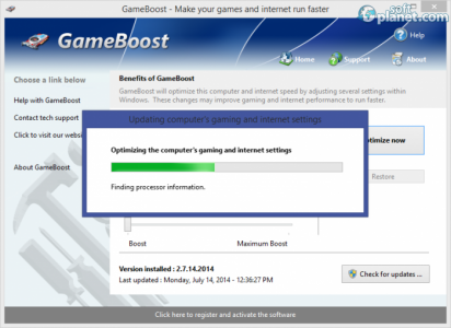 GameBoost Screenshot2