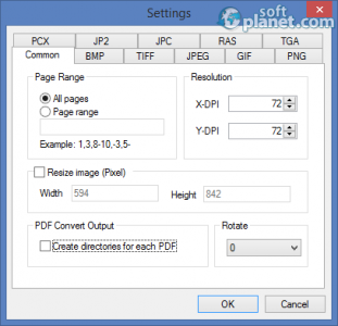 Mgosoft PDF To IMAGE Converter Screenshot2