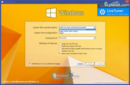 Windows 8 Transformation Pack System files transformation