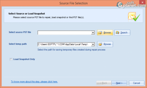 Free Outlook Inbox Repair Tool Screenshot2