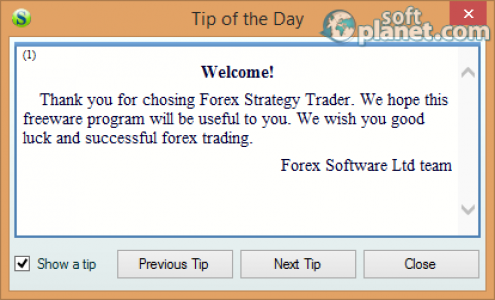 Forex Strategy Trader Screenshot2