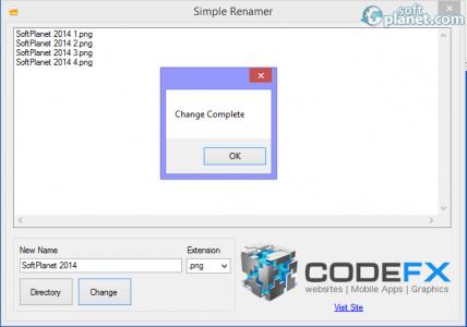 Simple Renamer Screenshot3