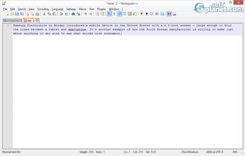Notepad Plus Plus Screenshot2