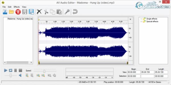 AV Media Player Morpher Screenshot2