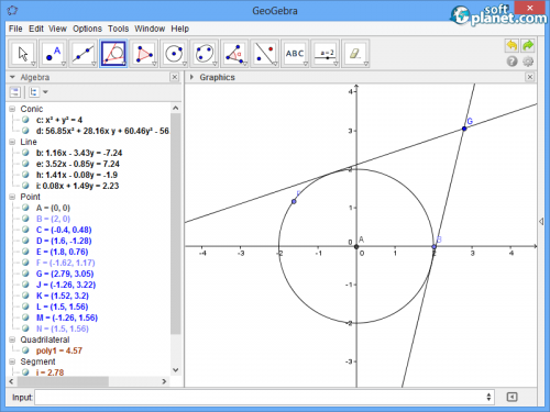 GeoGebra Screenshot3