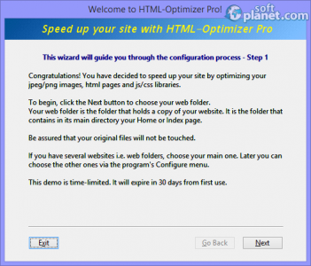 HTML-Optimizer Pro Screenshot4