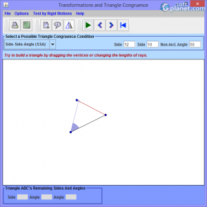 Transformations and Triangle Congruence Screenshot2