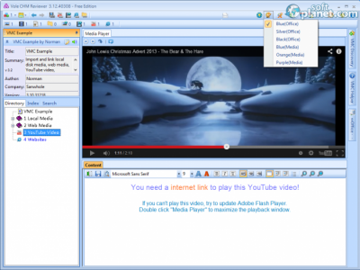 Vole CHM Reviewer Screenshot2