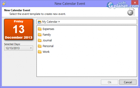 Bossdesk Calendar Screenshot3