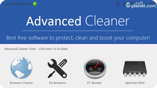 Advanced Cleaner Screenshot2
