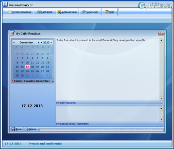 Personal Diary Screenshot2