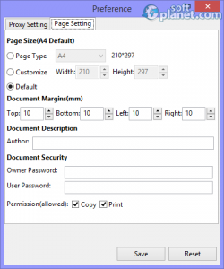 Amacsoft Image to PDF Converter Screenshot4
