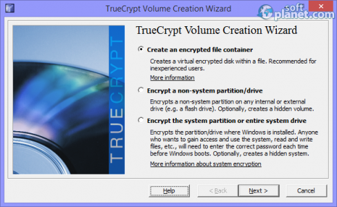 TrueCrypt Screenshot2