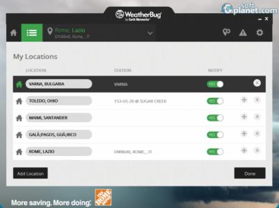 WeatherBug Screenshot3