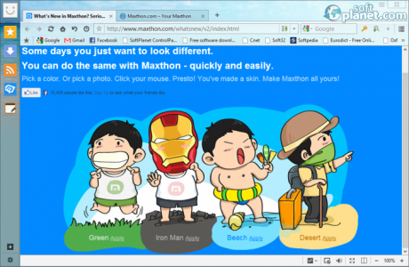 Maxthon Cloud Browser Screenshot2