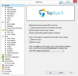TopStyle Screenshot2