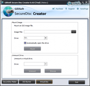 GiliSoft Secure Disc Creator Screenshot3