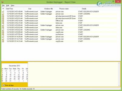 Golden Keylogger Screenshot2
