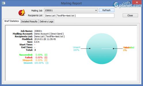 EMS Bulk Email Sender Screenshot3